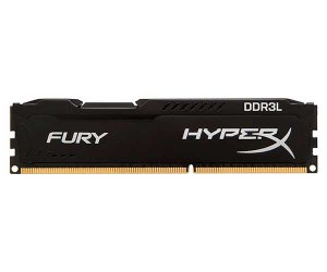 MEMORIA RAM DDR3L 4GB 1866MHZ HYPER X FURY BLACK HX318LC11FB/4 - KINGSTON