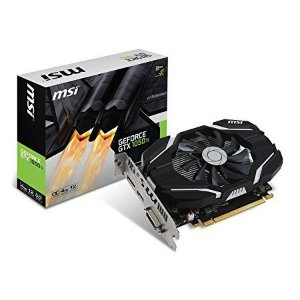 PLACA DE VIDEO GTX 1050TI 4GB GDDR5 OC SINGLE FAN 128BITS 912-V809-2268 - MSI