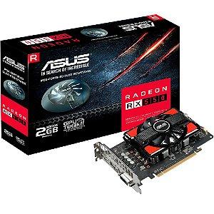 PLACA DE VIDEO RX 550 2GB GDDR5 128BITS RX550-2G - ASUS