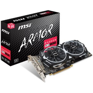 PLACA DE VIDEO RADEON RX 580 4GB/OC ARMOR - MSI