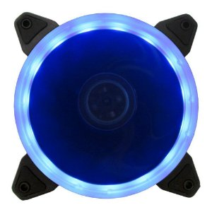 COOLER PARA GABINETE 120MM RING LED AZUL BFR-05B - BLUECASE