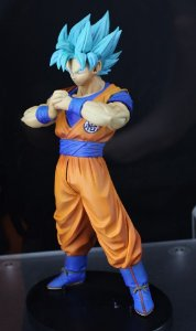 ACTION FIGURE DRAGON BALL SUPER - DXF THE SUPER WARRIORS 4 - SUPER SAIYAN BLUE GOKU- BANDAI BANPRESTO