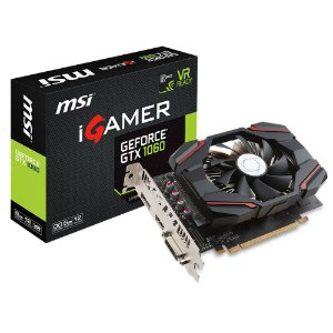 PLACA DE VIDEO GTX 1060 6GB 192BITS IGAMER OC  - MSI