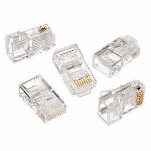 CONECTOR RJ-45 UTP CAT5E TRANSPARENTE - EMPIRE