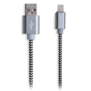CABO USB LIGHTINING IPHONE S/ MFI NYLON 1.5M WI343 - MULTILASER