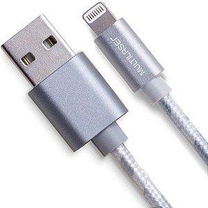 CABO USB LIGHTNING HOMOLOGADO NYLON 1.5M WI344 - MULTILASER