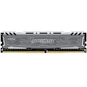 MEMORIA RAM DDR4 2400MHZ 4GB BLS4G4D240FSB CINZA BALLISTIX - CRUCIAL