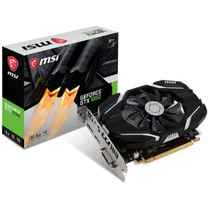 PLACA DE VIDEO GTX 1050 2GB OC SINGLE FAN GDDR5 128BITS 912-V809-2287 - MSI