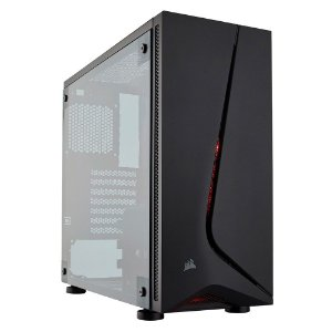 GABINETE GAMER CARBIDE SPEC 05 CC-9011138-WW RED LED - CORSAIR