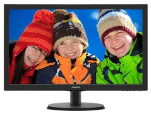 MONITOR 18,5 LED HD 720P VGA 193V5LSB2 PRETO - PHILIPS