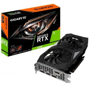PLACA DE VIDEO RTX 2060 6GB DDDR6 DUALFAN GV-N2060OC-6GD - GIGABYTE