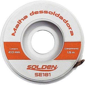 MALHA DESSOLDADORA 2MMX1,5M - SOLDEN
