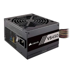 FONTE ATX 450W 80PLUS WHITE VS450 CP-9020170-WW PFC ATIVO - CORSAIR