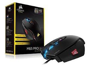 MOUSE USB GAMER M65 PRO 12000DPI RGB ALUMINUM BLACK CH-900011-NA - CORSAIR
