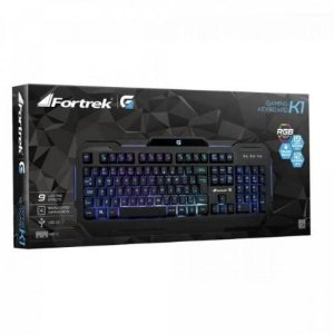 TECLADO USB GAMER RGB K1 - FORTREK