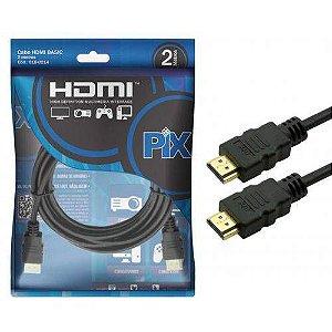 CABO HDMI/HDMI 1.4 15P 2M 018-0214 - PIX