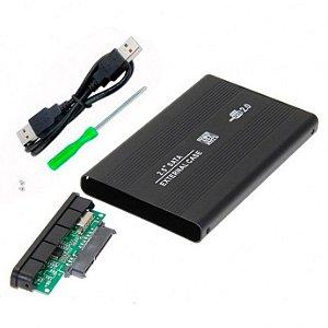CASE PARA HD 2,5 USB 2.0 PRETO - JIKATEC