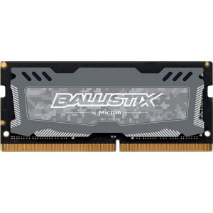 MEMORIA RAM NOTEBOOK DDR4 2400MHZ 8GB BALLISTIX SPORT LT CINZA BLS8G4S240FSDK - CRUCIAL