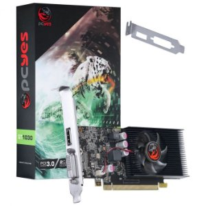 PLACA DE VIDEO GT 1030 2GB DDR5 PA1030GT6402G5 - PCYES