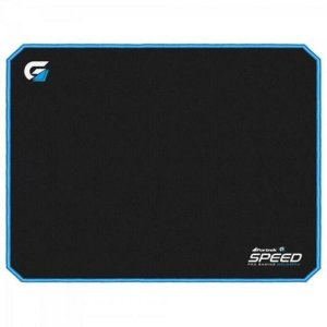 MOUSE PAD GAMER SPEED PRETO COSTURA AZUL MPG101 - FORTREK