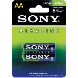 PILHA ALCALINA AA AM3L-B2D ECO FRIENDLY - SONY