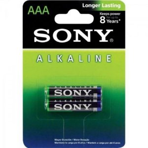 PILHA ALCALINA AAA AM4L-B2D ECO FRIENDLY - SONY