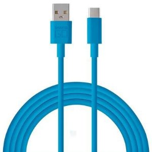 CABO USB TIPO C BLINDADO WI398 1.2M AZUL - MULTILASER
