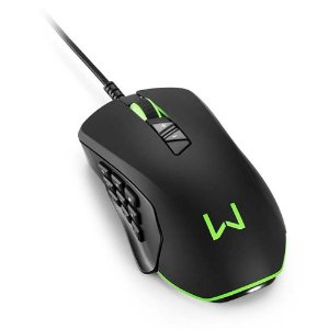 MOUSE USB GAMER 10K-DPI RGB 14BOTOES MORAY MO278 - MULTILASER