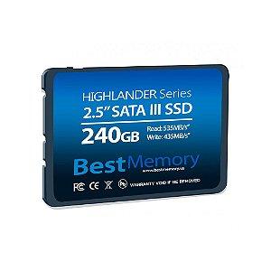 SSD 240GB SATAIII HIGHLANDER BTSDA-240G - BEST MEMORY