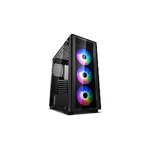 GABINETE GAMER MATTREXX 50 ADD-RGB 3F - DEEP COOL