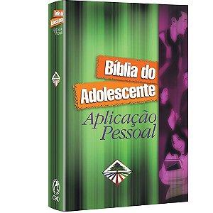Bíblia do Adolescente Aplicação Pessoal