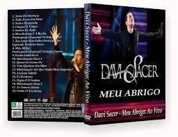DVD Davi Sacer Meu Abrigo ao Vivo