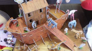 Arca de Noé Montável 3D