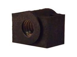 Castanha em bronze com mancal em nylon para o fuso Tr14,Tr16,Tr18 e Tr20