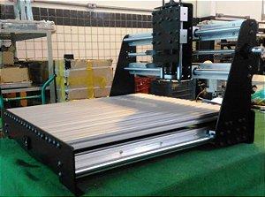Kit Fresadora Router Frame em aço + mecânica com fusos de esfera 500x520mm