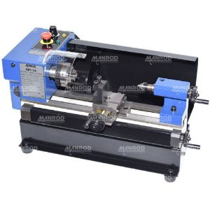 Micro Torno Hobby 110x125mm 150W  Ref: MR-34