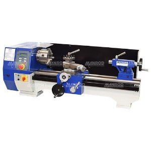Torno de Bancada Profissional 250x550mm Velocidade Variável Ref: MR-336