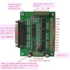 Interface para controlar até 6 eixos