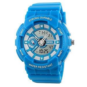 079b2ab08c8 Relógio Infantil Skmei Anadigi 1052 AZ