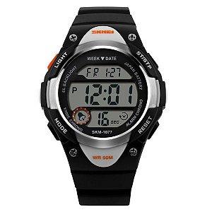 Relógio Infantil Skmei Digital 1077 PT