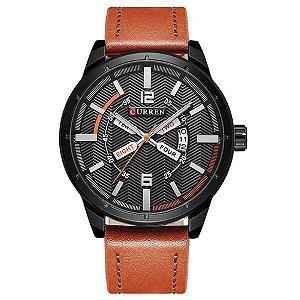 Relógio Masculino Curren Analógico 8211 Preto