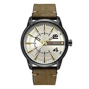 Relógio Masculino Curren Analógico 8306 - Preto e Verde