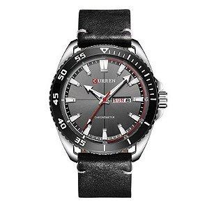 Relógio Masculino Curren Analógico 8272 - Preto