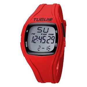Relógio Feminino Tuguir Digital TG1602 - Vermelho