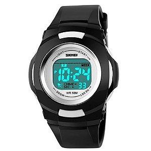 Relógio Infantil Skmei Digital 1094 Preto cee494814de3e