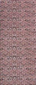 Tecido 100 % Algodão Para Patchwork E Artesanato Em Geral Cor detalhe tijolos larg 1,46