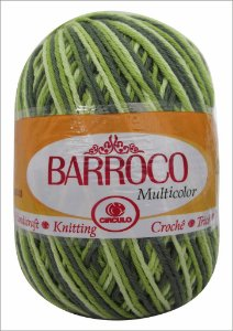Barroco 200 gramas cor 9536
