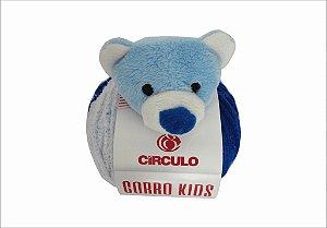 Novelo Lã Gorro Kids Urso
