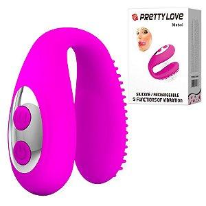 Vibrador para Boca com 7 Modos de Vibração - PRETTY LOVE MABEL - CD005A
