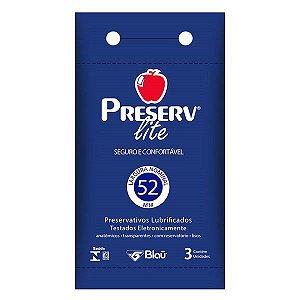 Preservativo Preserv Lite com 3 Unidades